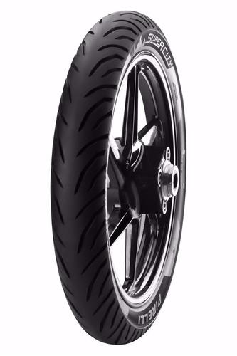 pneu moto pirelli 90/90-18 super city (traseiro) cg 125/150
