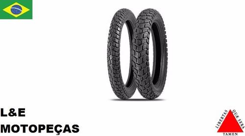 pneu moto xtz/xl/xlr 125 110/80-18 levorin duna traseiro