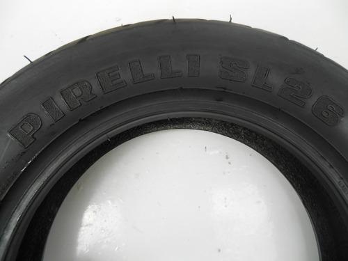 pneu pirelli 100 90 10 sl26 diant/tras suzuki burgman*