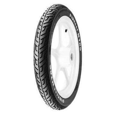 pneu pirelli 100/90-18 + 2.75-18 mt65 s/câmara cg150 titan