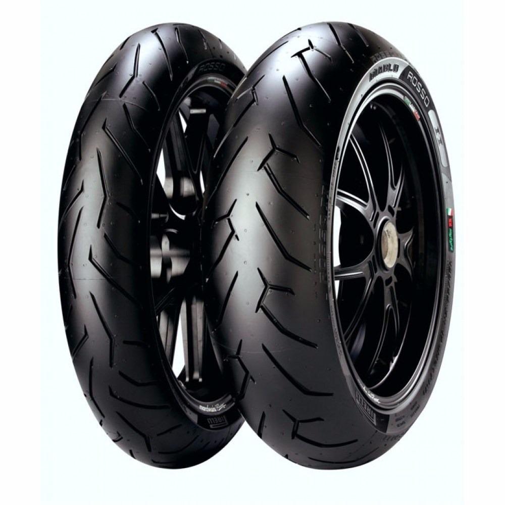 pneu pirelli par diablo rosso 2 radial 110 70 17 150 60r. Black Bedroom Furniture Sets. Home Design Ideas