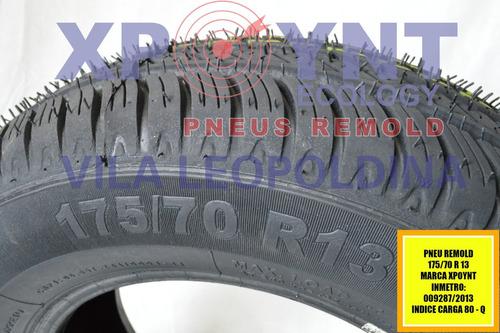 pneu remold inmetro 175/70r13 montagem gratis sp limao
