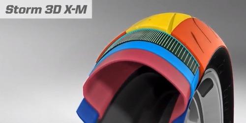 pneu traseiro avon storm 3d x-m - 160/60-17