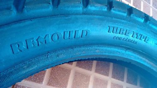 pneu traseiro brós 110/90/17 remould !!!!