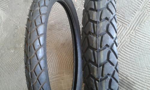 pneu traseiro magion 120/80-18+ 2.75-21 dinteiro kenda-par
