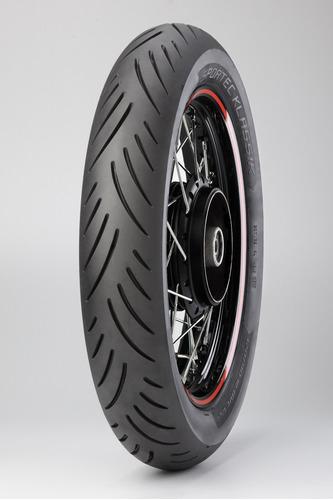 pneu traseiro metzeler 130/70-17 sportec yamaha fazer 250 09