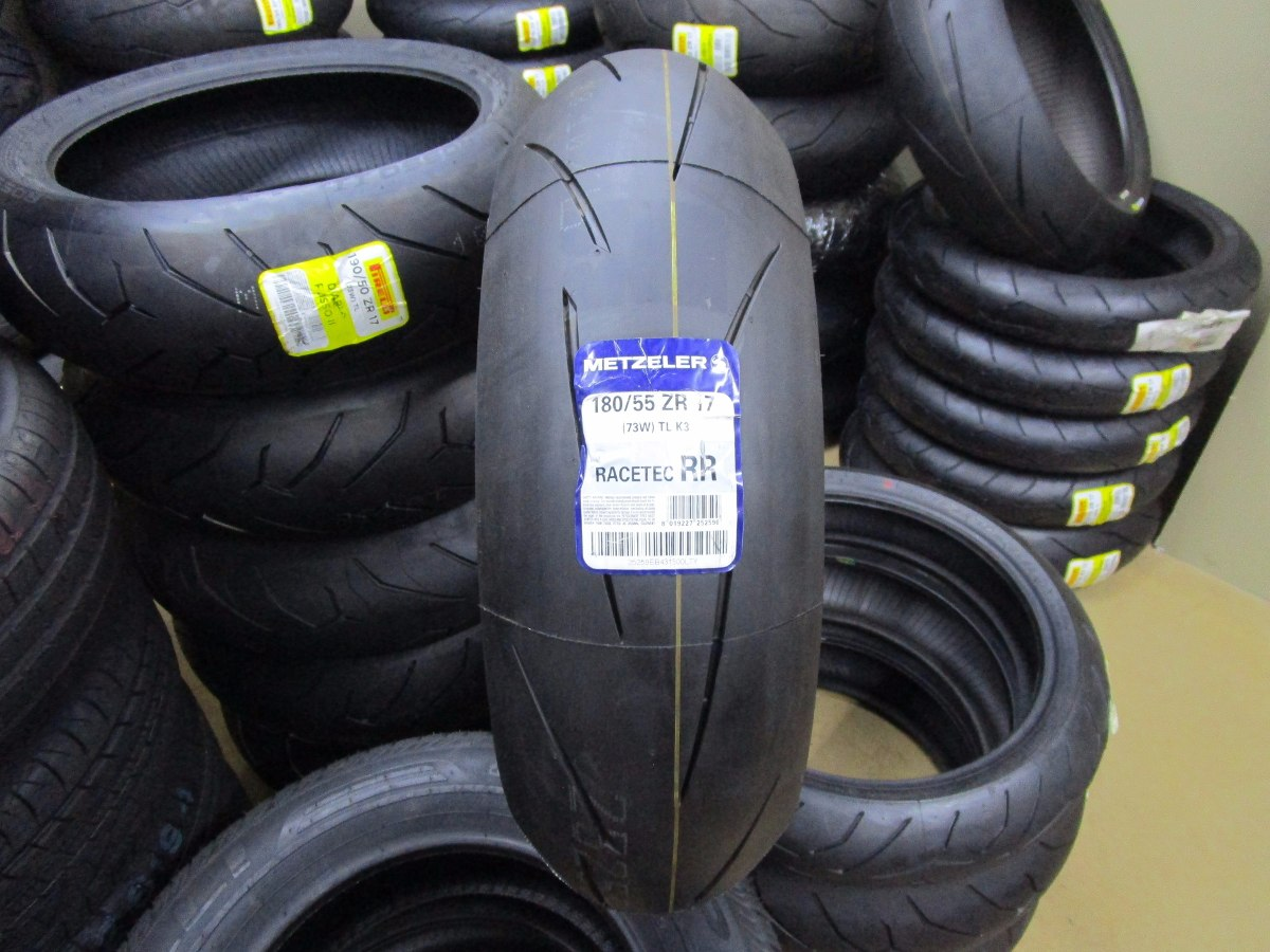 pneu traseiro para moto metzeler racetec rr 180 55 r17 73w r em mercado livre. Black Bedroom Furniture Sets. Home Design Ideas