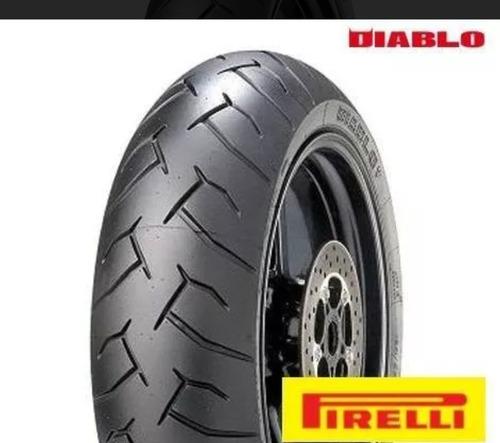 pneu traseiro pirelli diablo 180/55-17 hornet