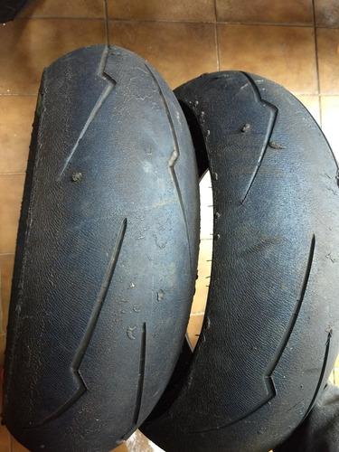 pneu traseiro supercorsa 180/60 hornet zx6 cbr600 600rr 675