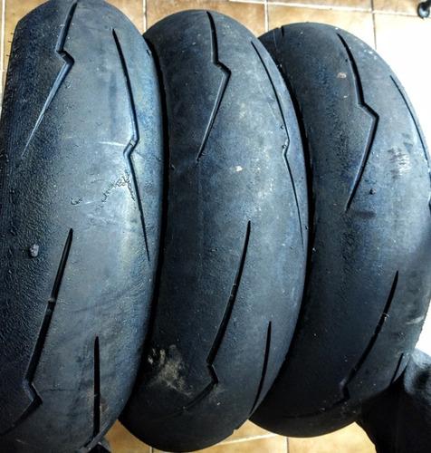 pneu traseiro xj6 er6 r3 supercorsa sc2 160/60 bem novo
