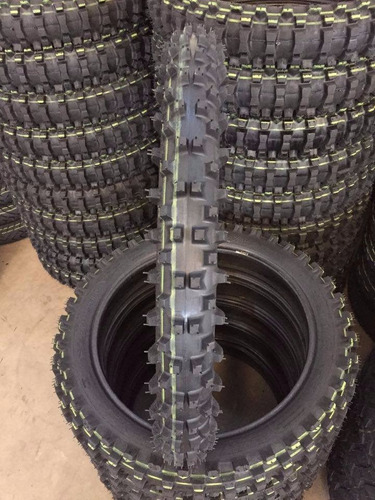 pneu trilha par 100/100.18 e 80/100.21 remold fa
