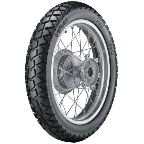 pneu xr200 xl125 xtz125 110/80-18 tr300 vipal traseiro