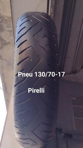pneus 140 e 130/70-17 frisados