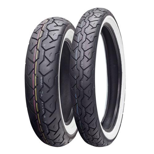 pneus maxxis m6011 bbranca 100/90-19 170/80-15 drag star 650