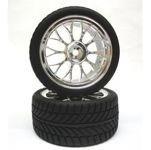 pneus radiais roda cromada ybs2 1-10 - wa1032