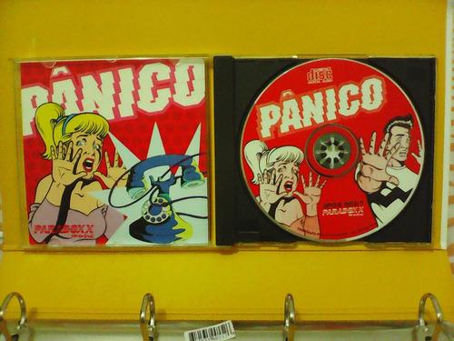 pânico - cd excelente