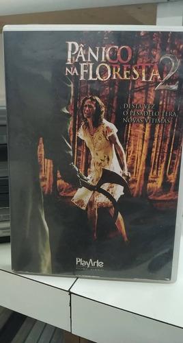 pânico na floresta 2 -dvd