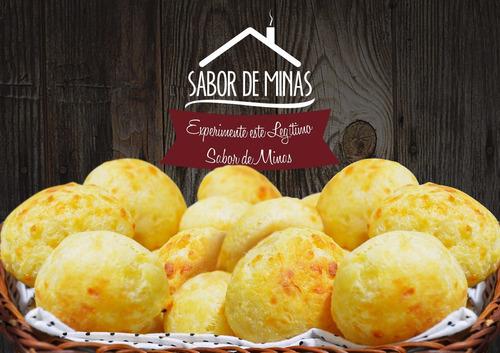 pão de queijo congelado r$ 5,90 kg para revenda