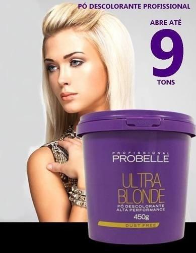 pó descolorante probelle ultra blond 450g profissional!!!