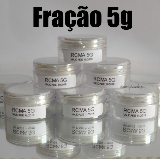 ... p rcma no color powder fracionado 5 0g fra o original