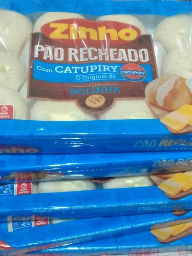 pão recheado com catupiry. zinho