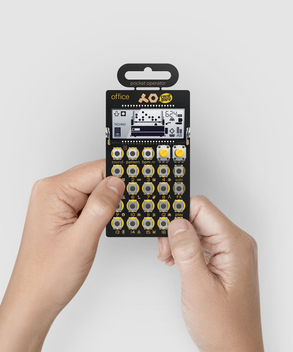 po24 office pocket operator drum machine teenage engineering