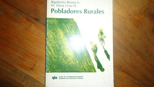 pobladores rurales