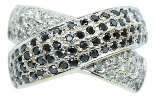pocao2005- anel de ouro 18k pave diamante 12x s/j ft/gt 719