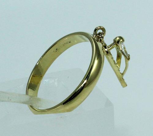 pocao2005- anel ouro18k berloque zircônias chinelo 231