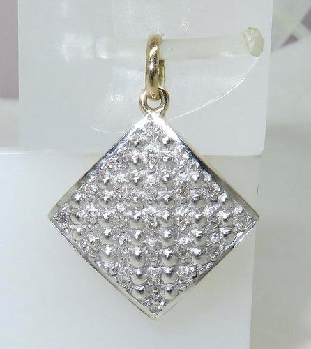pocao2005- pingente ouro 18k 750 diamantes p225
