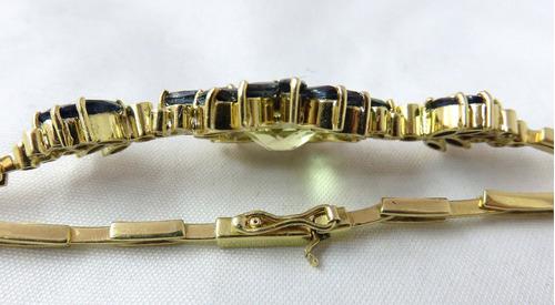pocao2005- pulseira de ouro 18k diamantes 12x s/j ft/gt pu20
