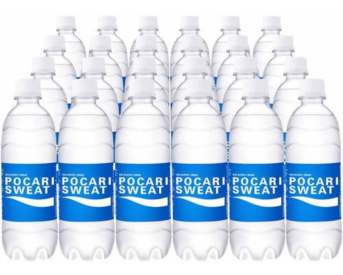 pocari sweat - bebida isotónica hidratante 500ml caja con 24
