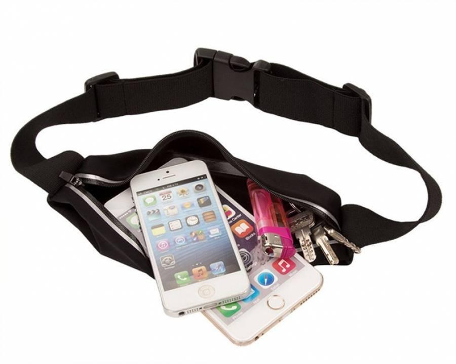 3ace91de9b523 pochete cinto p celular com porta chave academia  corrida. Carregando zoom.