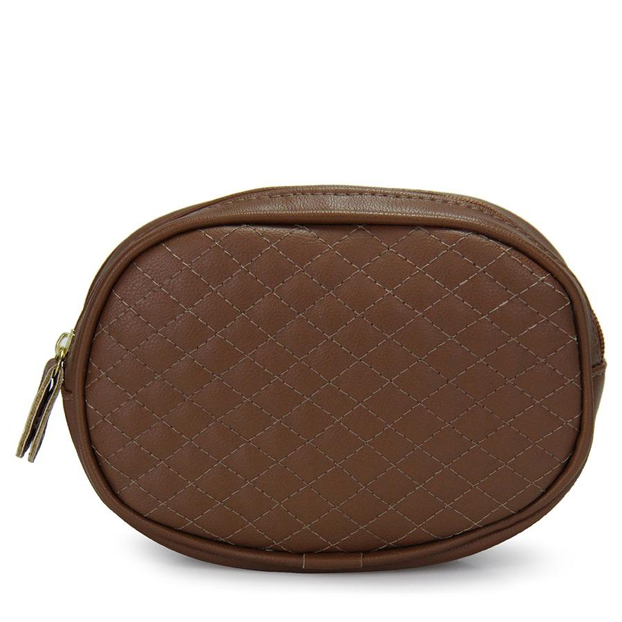 pochete feminina lara - caramelo. Carregando zoom. 315fc9ae8acc6