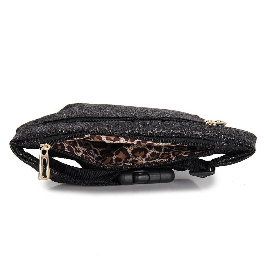 pochete feminina lara - preto. Carregando zoom. 067d4179d16ca