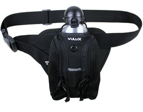 pochete hidratação caminhada vullix com garrafa submariner