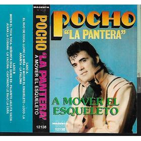 Pocho La Pantera Album A Mover El Esqueleto Magenta Cassette