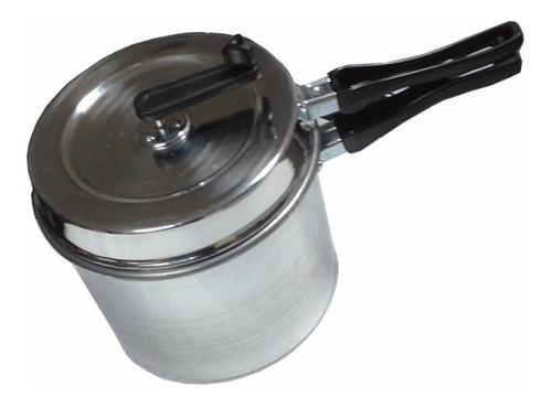pochoclera olla aluminio hogareña para pochoclos pop corn
