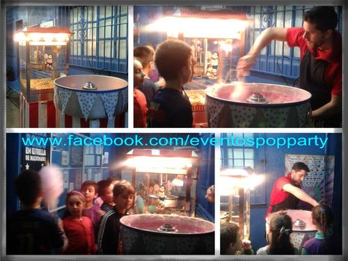 pochoclera! ( pochoclos) -copos de azúcar! panchos pop party
