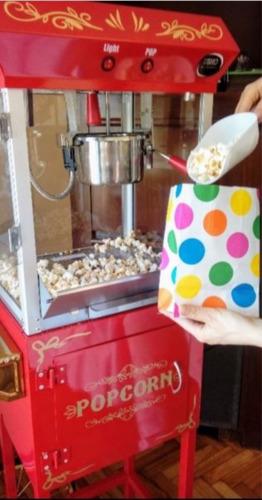 pochoclos maquina pochoclera alquiler fiestas eventos