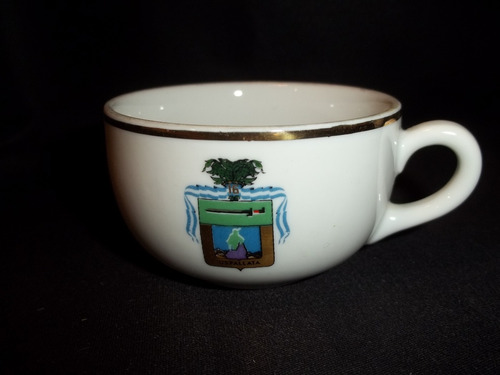pocillo de cafe con logo escudo uspallata