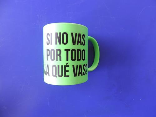 pocillos neón,vasos,mugs,ceramica,estampado,detalles