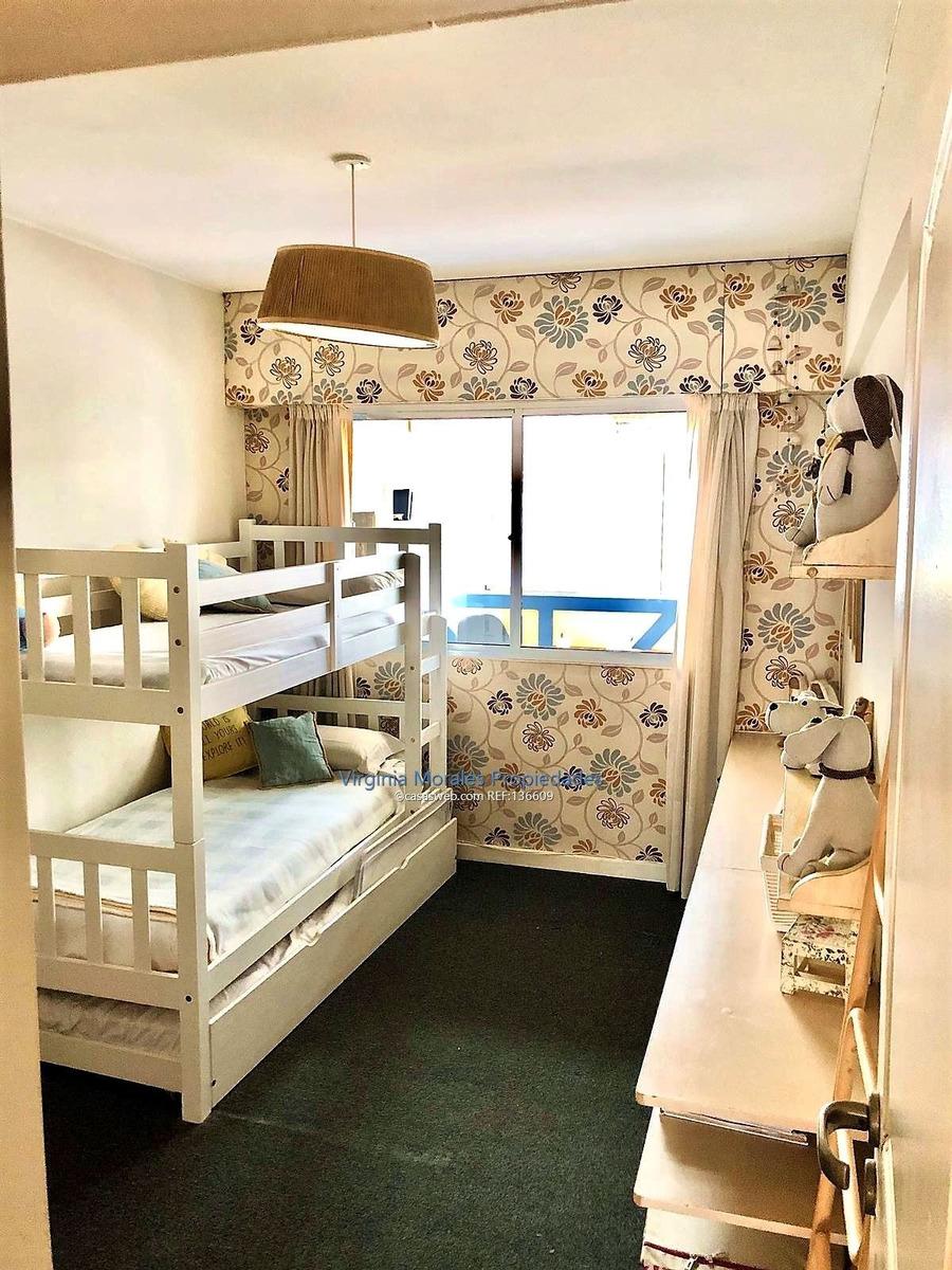 pocitos - apto 2 dormitorios 2 baños