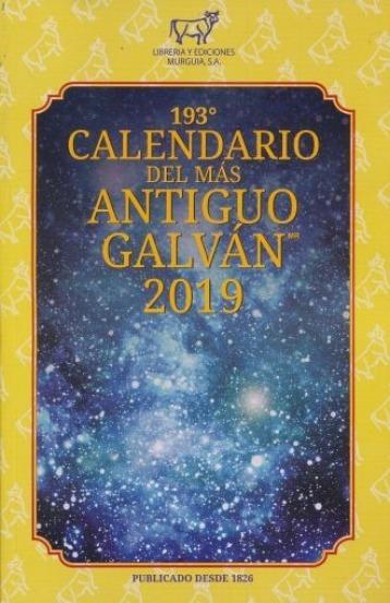 Pocket 193 Calendario Del Mas Antiguo Galvn 2019