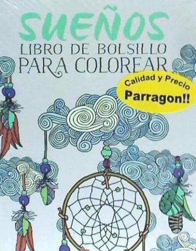 pocket colouring sueños(libro )