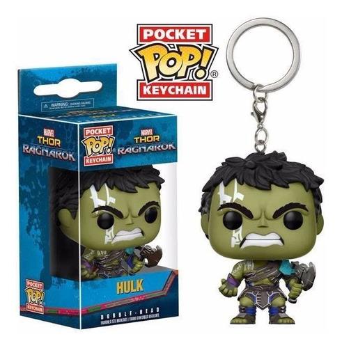 pocket pop gladiator hulk gladiador ragnarok funko keychain
