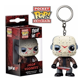 Pocket Pop Jason Voorhees Friday The 13th Funko Llavero
