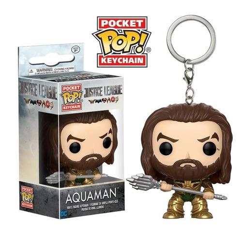 pocket pop keychain - aquaman justice league
