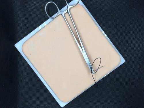 pocket simulador de piel-pad para entrenamiento de sutura