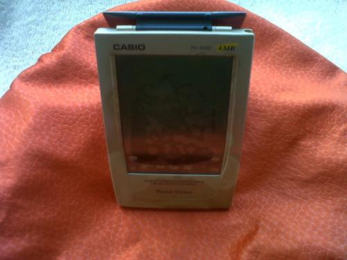 pocket viewer casio 4 mb incluye accesorios para repuesto